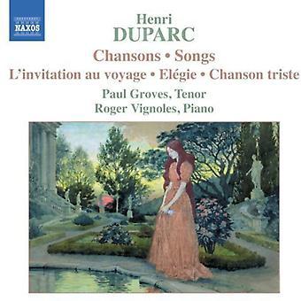 H. Duparc - Duparc: Chansons [CD] USA import