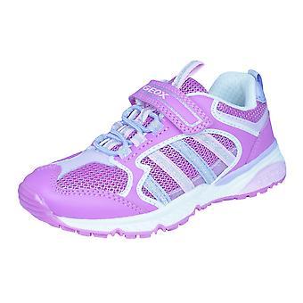 Geox J Bernie G.A Mädchen Trainer / Schuhe - Pink