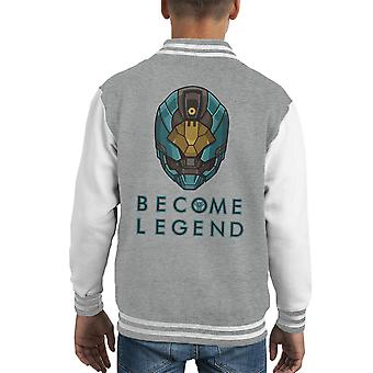 Legend Destiny Helmet Kid's Varsity Jacket ol