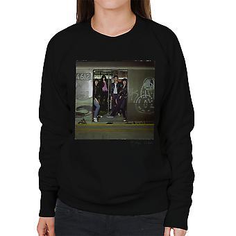 Ramones unterirdischer Dschungel Album Damen Sweatshirt