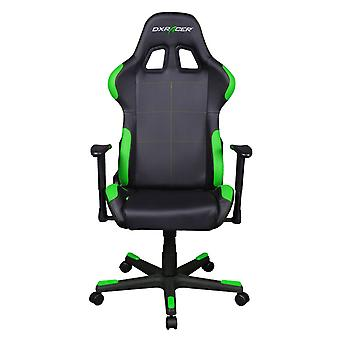DX Racer DXRacer OH/FD99/NE High-Back Ergonomic Computer Desk Chair PU(Black/Green)