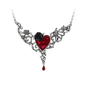 Alchemy The Blood Rose Heart Necklace