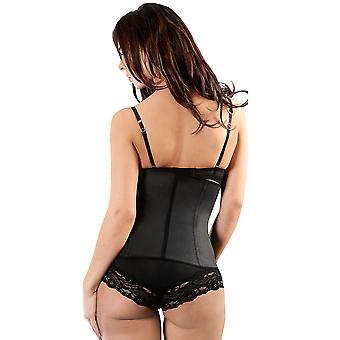 Esbelt ES404 Women's Black Firm/Medium Control Slimming Shaping Waist Cincher
