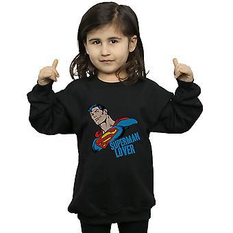 DC Comics Girls Superman Lover Sweatshirt