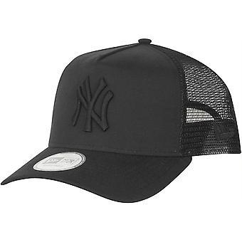 New Era Trucker Cap - OXFORD New York Yankees schwarz