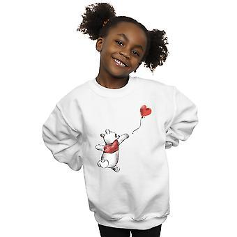 Disney Mädchen Winnie The Pooh Ballon Sweatshirt