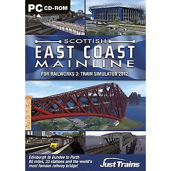 Scottish East Coast Mainline - Add-On for Railworks 3 (PC DVD) - New