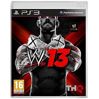 WWE 13 (PS3) - Som ny