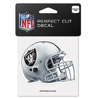 Wincraft helm sticker 10x10cm - NFL Oakland Raiders