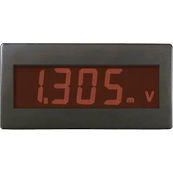 Digital rack-mount meter VOLTCRAFT DVM230RN ±199.9 mV