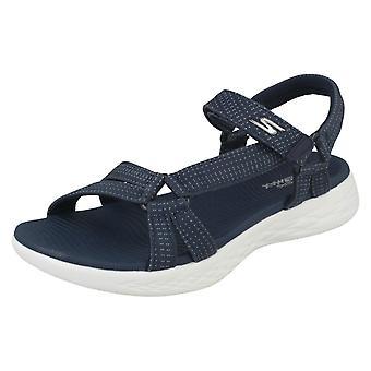 Dames Skechers Casual Strappy Sandals Brilliancy 15316