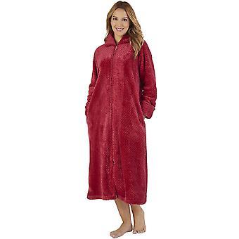 Slenderella HC2331 Frauen Waffel Flanell Robe Loungewear Bad Morgenmantel
