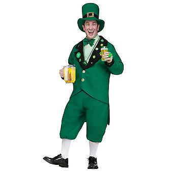 Leprechaun St Patricks Day Irish Oktoberfest Beer Pub Crawl Men Costume
