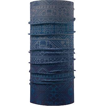 Buff ThermoNet Buff Neck Warmer in Eskor Perfuse Blue