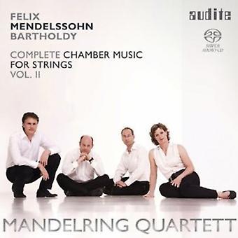F. Mendelssohn - Mendelssohn: Complete Chamber Music for Strings, Vol. 2 [SACD] USA import