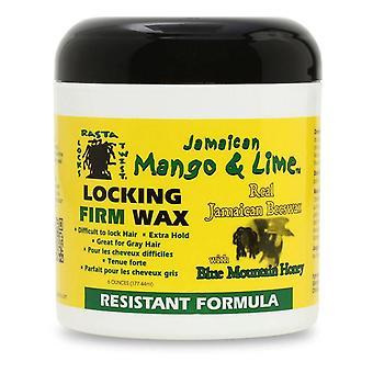 Jamaican Mango & Lime Resistant Formula Locking Firm Wax 6oz