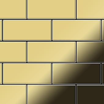 Metalowa mozaika z mosiądzu Alloy Subway-BM