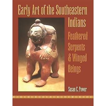 Vroege kunst van de zuidoostelijke Indianen - gevederde slangen en gevleugelde