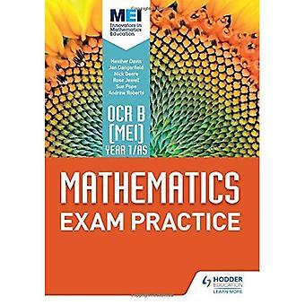 OCR-B [MEI] år 1/AS matematikk eksamen praksis