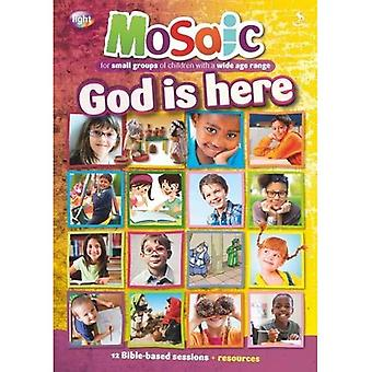 God is here (Mosaic)