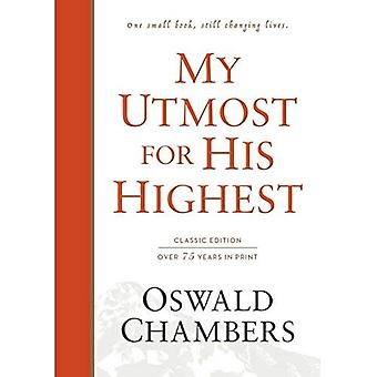 My Utmost for His Highest:� Classic Language Hardcover