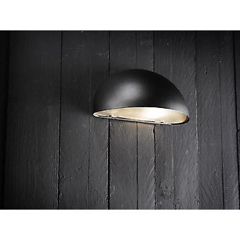 Scorpius  -  Black Dome Wall Light  - Nordlux 21651003