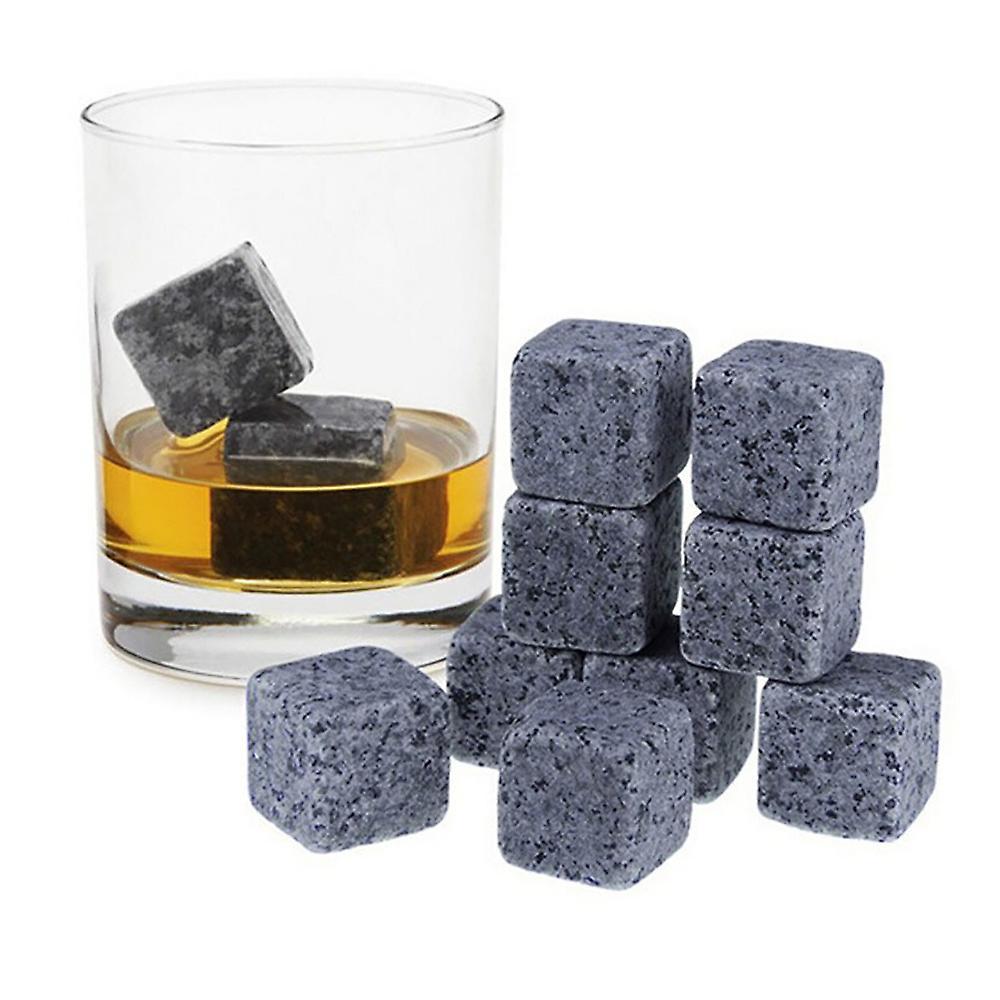 9-pakning whiskey Stones