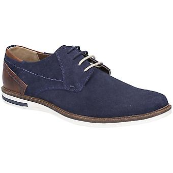 Hush Puppies Mens Frankie Lace Up Suede Durable Smart Shoes