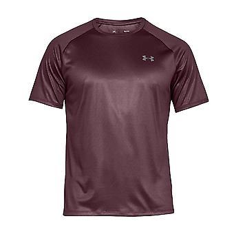 Under Armour Tech 2,0 mens korte mouw opleiding T-shirt tee Maroon