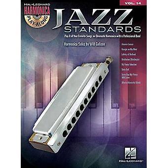 Harmonica Play-Along Volume 14 - Jazz Standards (Book/CD) by Will Gali