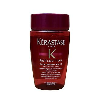 Kerastase Reflection Bain Chroma Riche Shampoo High Lighted Hair 2.71 OZ