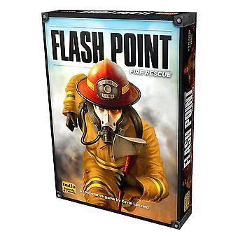 Ponto de fulgor Fire Rescue segunda edição jogo de tabuleiro