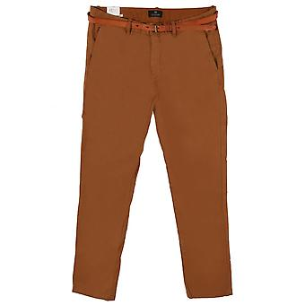 Scotch & Soda Slim-Fit Chino Trousers,Tabacco 82