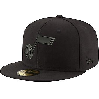 Nieuwe Era 59Fifty Cap-NBA BLACK Utah Jazz