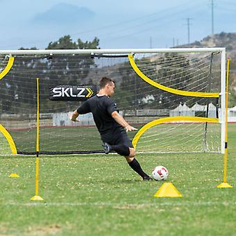 Sklz Goalshot Fußball Praxis Schuss Ziel Netz für volle Größe Ziel