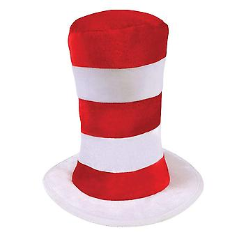 Bristol Novelty Childrens/Kids Tall Striped Top Hat