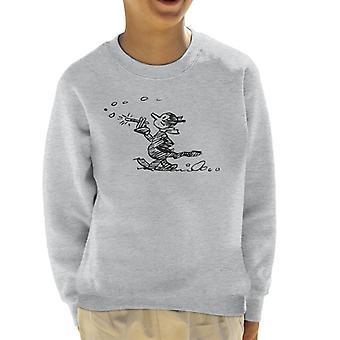 Krazy Kat wandeling Kid's Sweatshirt
