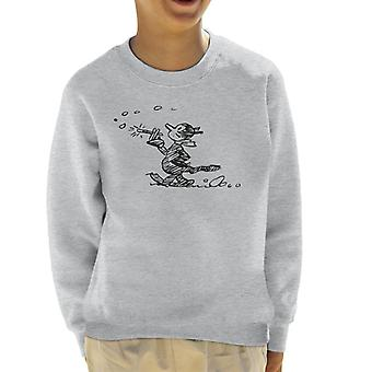 Krazy Kat Stroll Kid's Sweatshirt