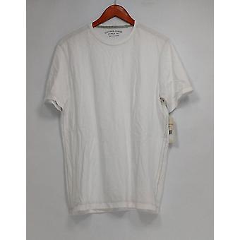 Copper Jones T-Shirt Solid Short Sleeve Crew Neck White