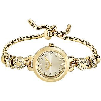 Morellato watches drops Quartz Analog Woman Watch with R0153122545 Gold-Plated Stainless Steel Bracelet