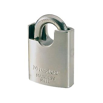 Masterlock 50mm Stainless Steel Padlock - Arco Protected (DIY , Hardware)