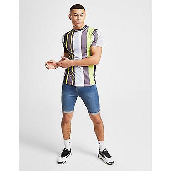 New Status Men's Ryder Denim Shorts Blue