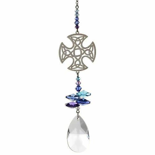 Celtic Cross Crystal Fantasy Rainbow Maker 24cm