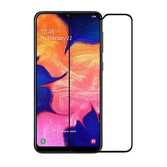 Ekran ochraniacz szkło hartowane 2.5D Samsung A10 Przezroczysta czerń