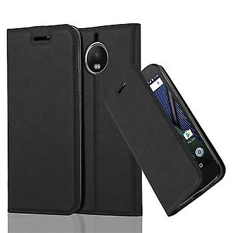 Cadorabo Case for Motorola MOTO G5S PLUS Case Cover - Phone Case with Magnetic Closure, Stand Function and Card Compartment - Case Cover Case Case Case Case Case Case Folding Style