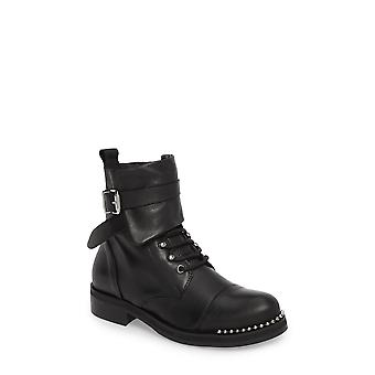 Charles David Womens Scorch Fabric Closed Toe Ankle Combat Boots