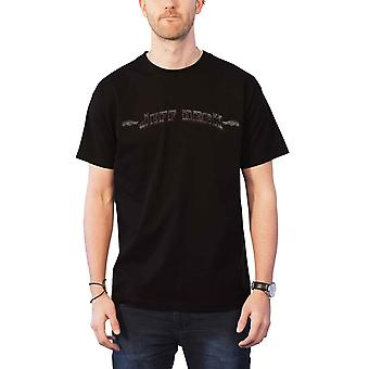 Jeff Beck T Shirt Vintage Logo distressed print new Official Mens Black