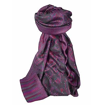 Mens Jamawar Premium Silk Scarf Modello 3879 di Pashmina & Silk