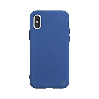 Eco Friendly Blue iPhone Xs / X case