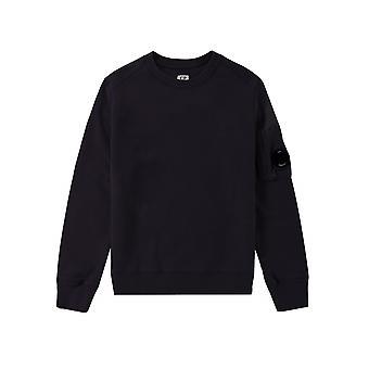 C.P. Company Undersixteen Navy Lens Sweatshirt